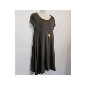 Gray Mini Dress 💣 Just Listed